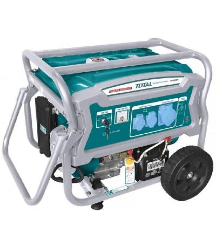 Generator pe benzina Total - 6500W INDUSTRIAL