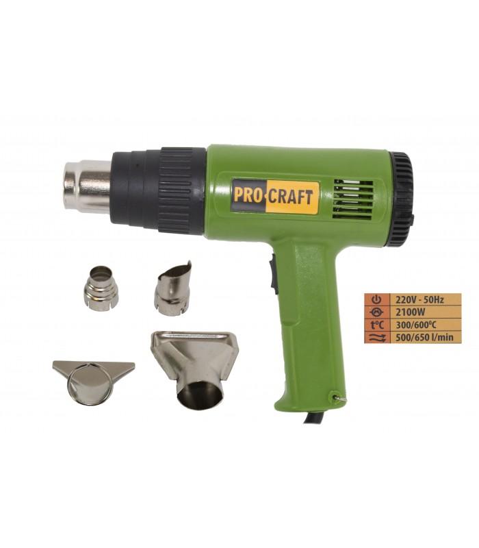 Feon industrial Procraft PH2100, 2100W, 600°C, importator Procraft