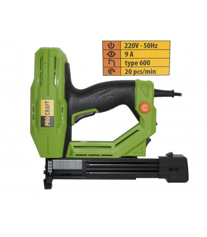 Capsator electric Procraft PEH600, pistol capse TYPE600, 9A
