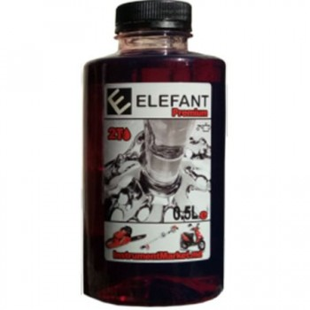 Ulei amestec 2T Elefant, 1:40, flacon 0.5 L
