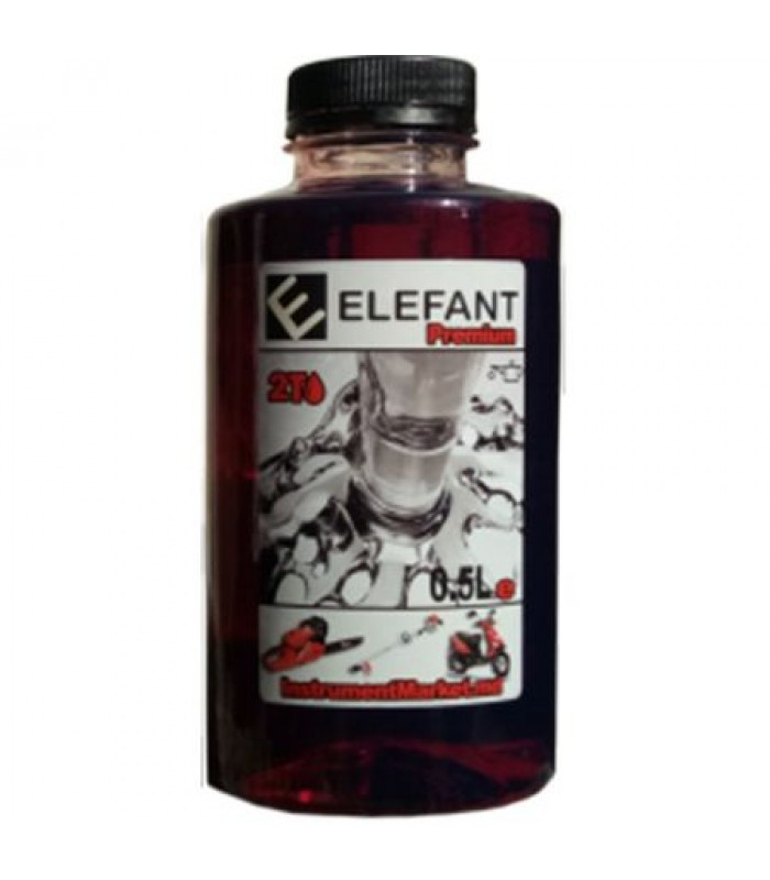 Ulei amestec 2T Elefant, 1:40, flacon 1.0 L