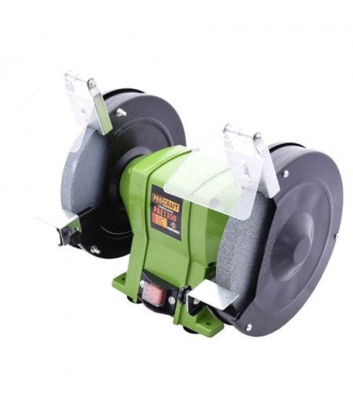 Polizor de banc ProCraft PAE1350, 1350 W, 2950 RPM, 200 mm - 12.7 mm