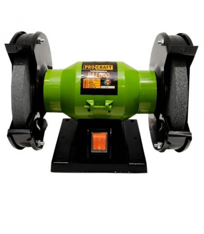 Polizor de banc ProCraft,PAE 600,600W,150mm,2950 rpm